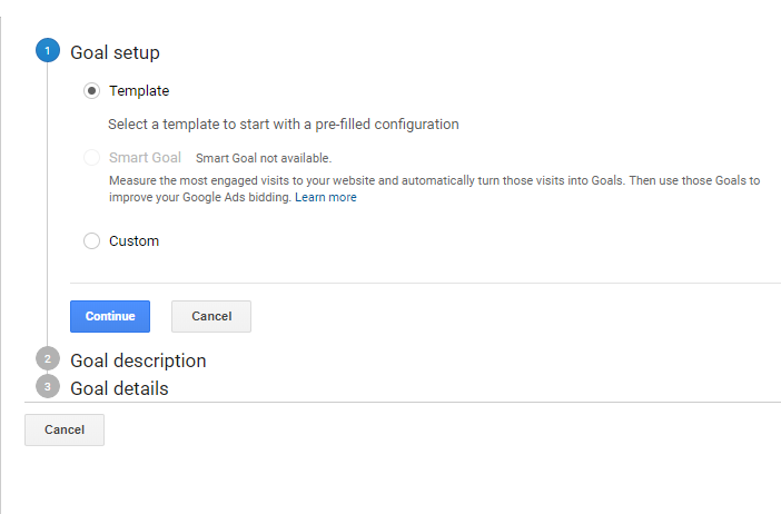 Google Analytics Goal Set Up Part 3
